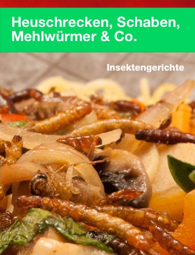 """Neuerscheinung: Kochbuch """"Heuschrecken, Schaben, Mehlwürmer & Co."""""""