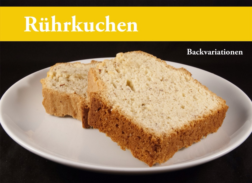 "Backbuch ""Rührkuchen"" demnächst gedruckt lieferbar"
